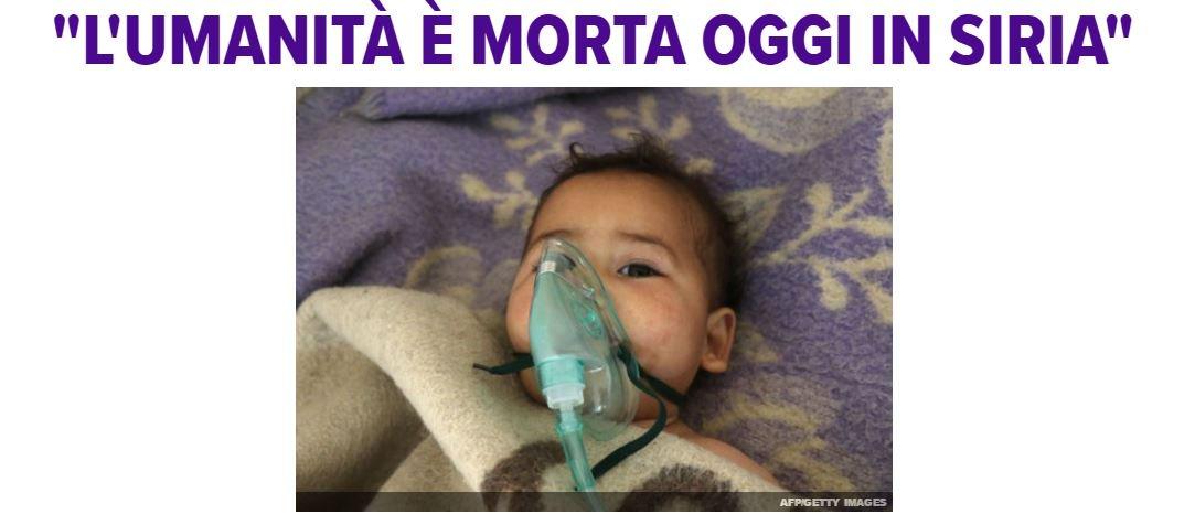 La condanna, fra le lacrime, del portavoce dell'Unicef sull'uso del gas che ha fatto strage a Idlib #Siria https://t.co/q6iq1cHsso
