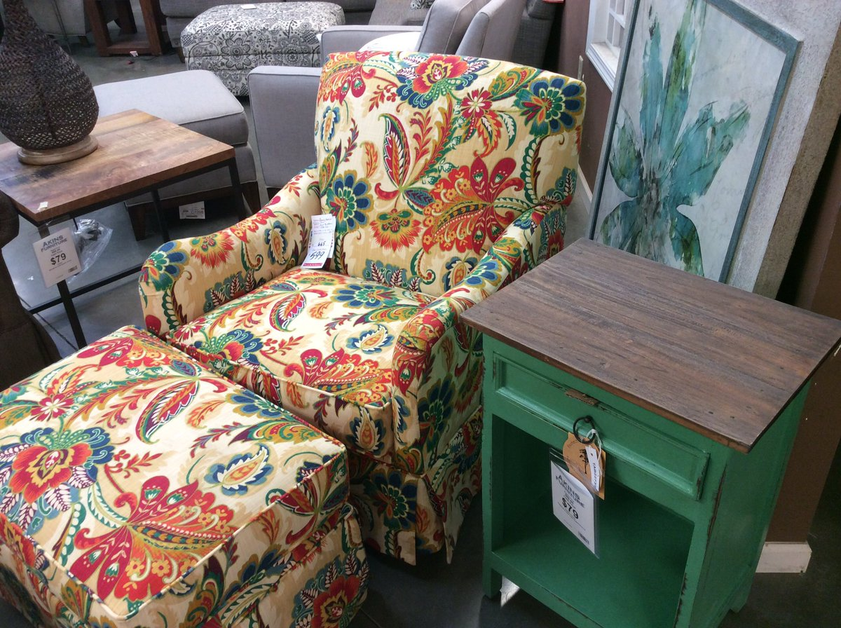 Sensational Akins Furniture On Twitter A Pop Of Color Chairs America Andrewgaddart Wooden Chair Designs For Living Room Andrewgaddartcom