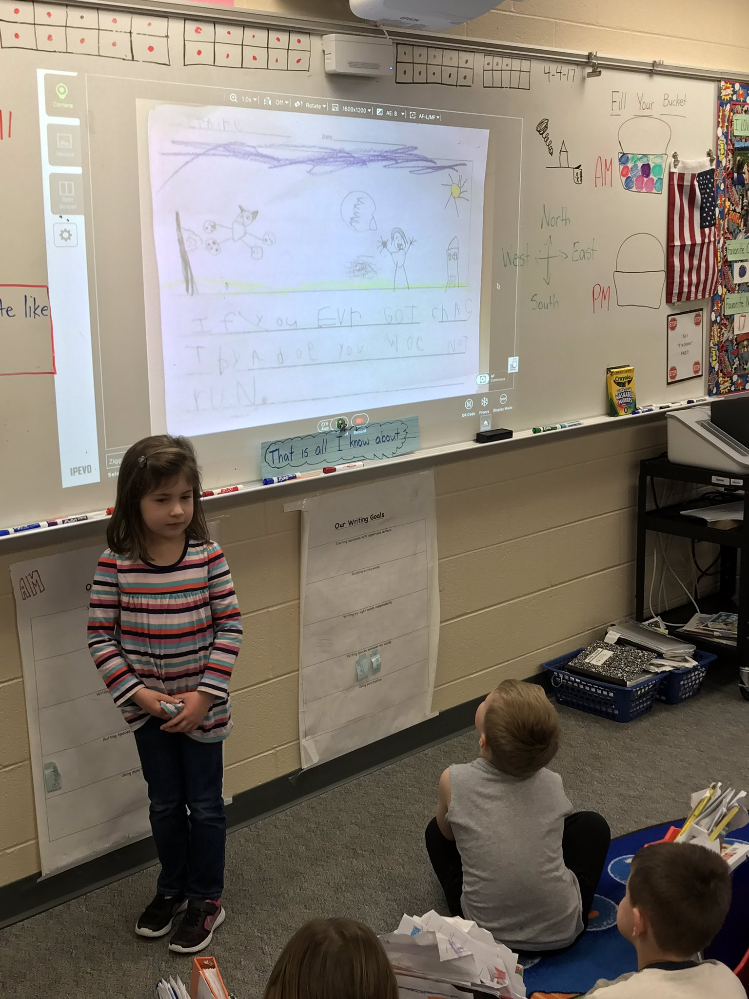 """Claire showed us a new style of informational writing today. """"How to be safe around dogs."""" #theDublinDifference #wegrowthinkers @beDCSD https://t.co/BIMQBR2Xyo"""