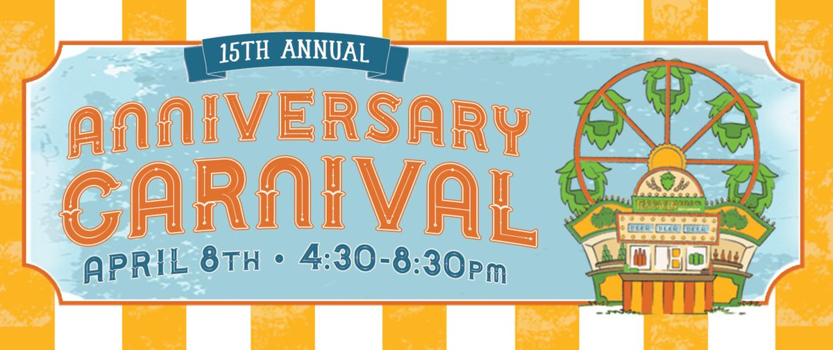 Retweet for a chance to win two tickets to our Anniversary Carnival this Saturday! https://t.co/qCQvMujmyr https://t.co/V2Fb0mCpjm