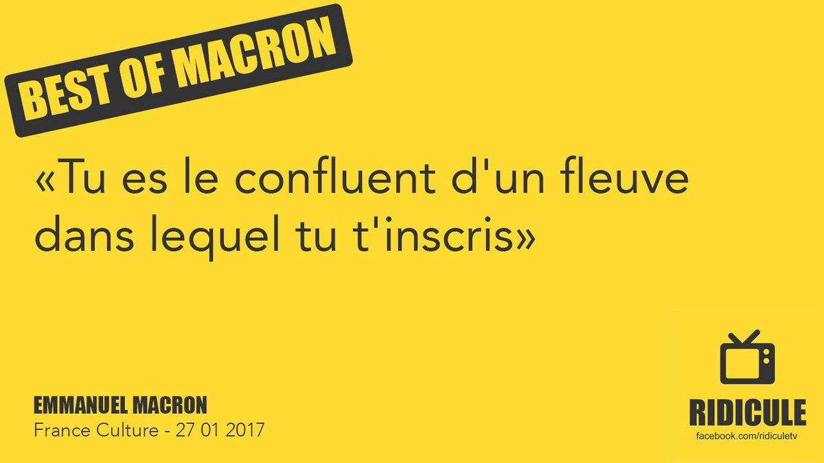 #BestOfMacron tu le sais pas encore mais en fait tu es un confluent. #LeGrandDebat