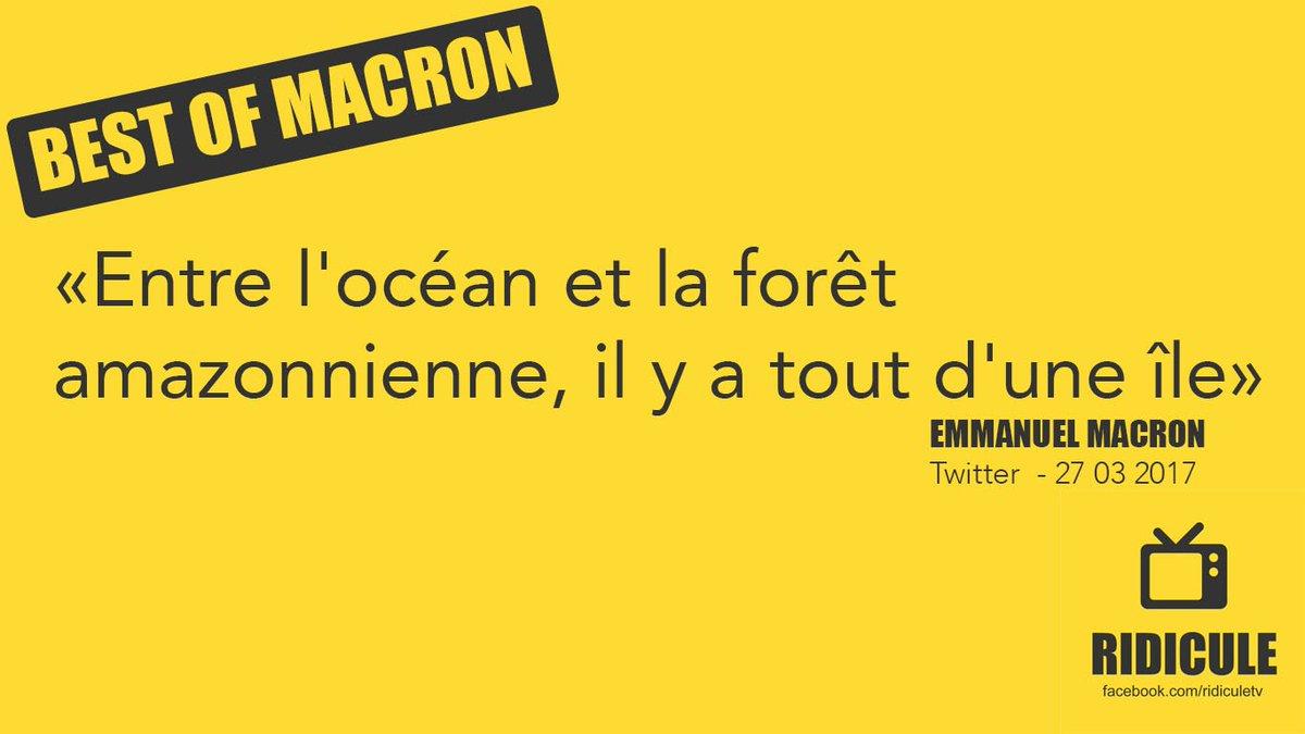 #BestOfMacron  nous on dit merci pour ce moment de poésie géographique...