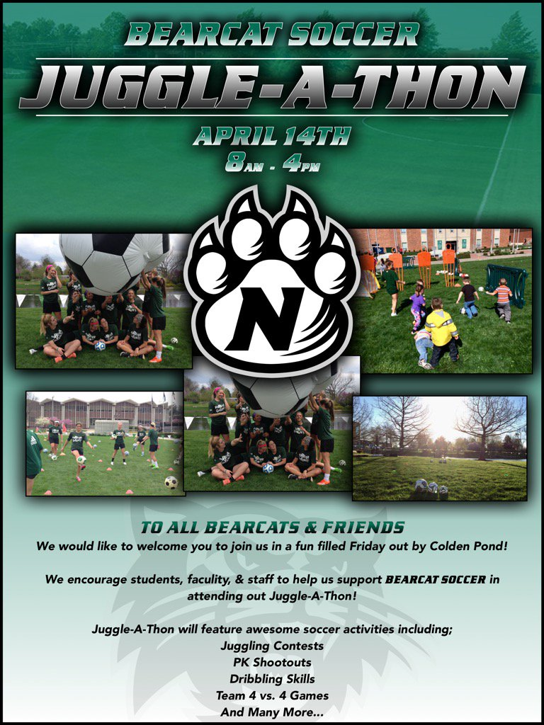 All Bearcat Friends are invited to join us for our Annual Juggle - A- Thon! https://t.co/CO3R3y2CVw