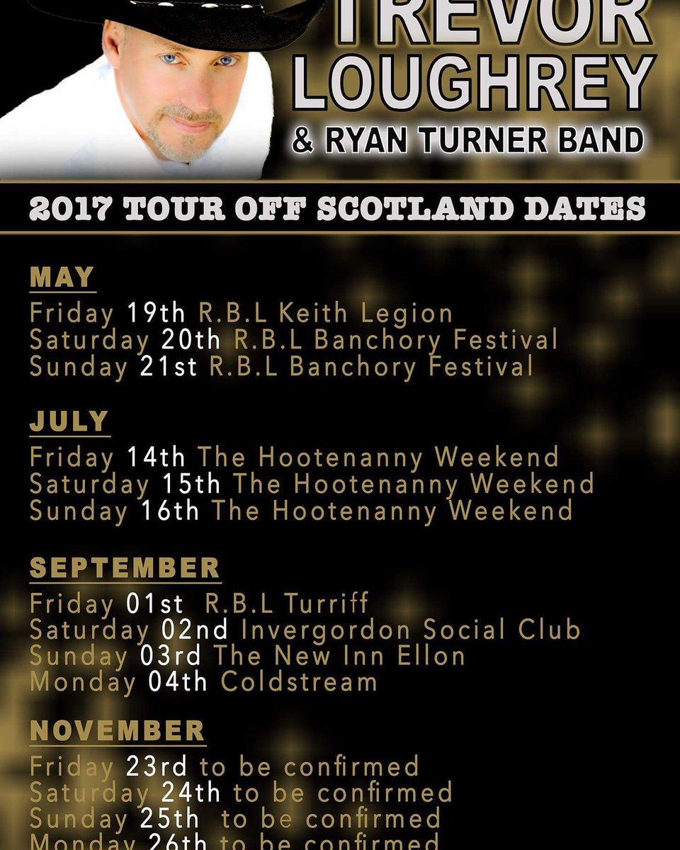 Trevor Loughrey Tour Dates