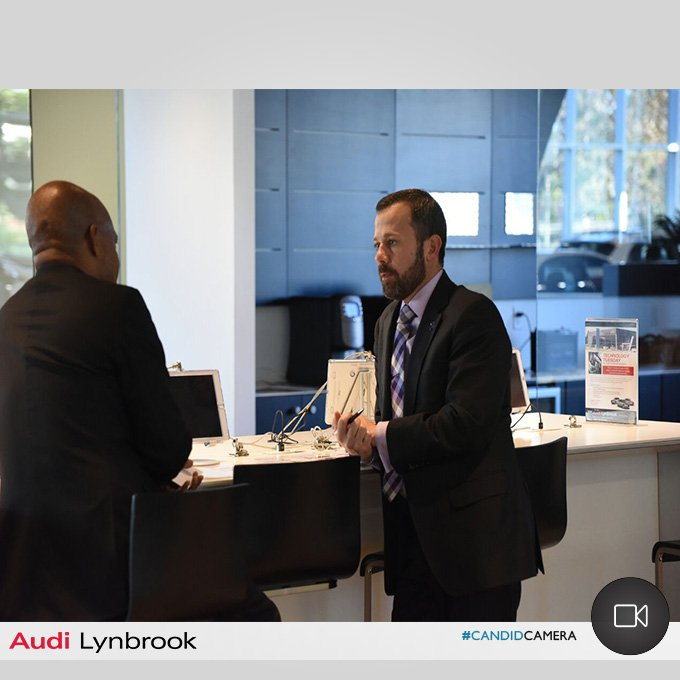 Audi Lynbrook On Twitter CandidCamera Our Staff Genuinely Takes - Audi lynbrook