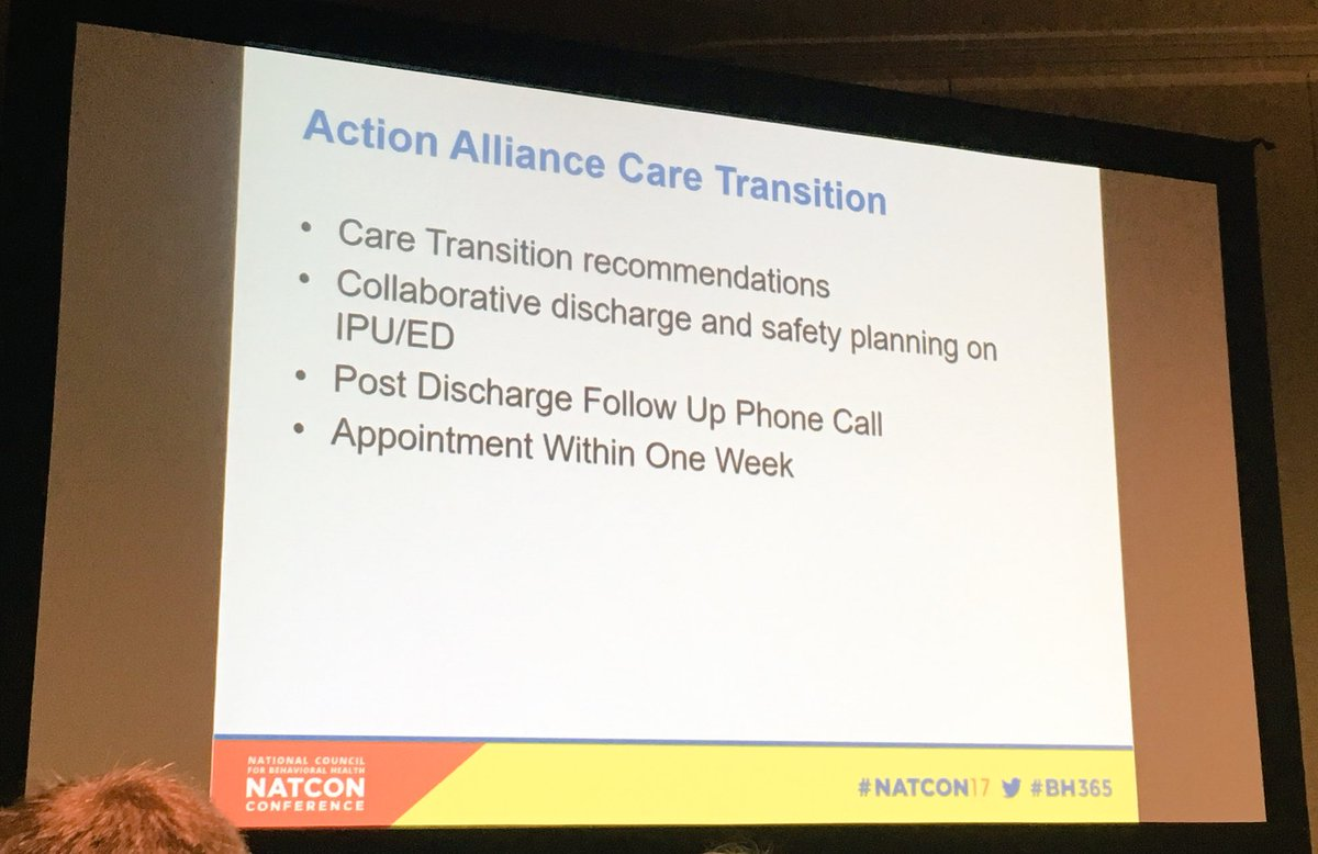 marlon rollins phd rollinsmarlon twitter recommendations from action alliance on care transitions follow up phone calls rapid referral collaborative safety planning natcon17pic twitter com