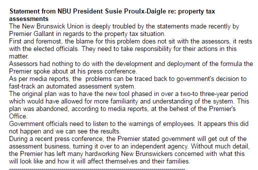 Statement from the union that represents property assessors: https://t.co/EV4FV5TWnJ
