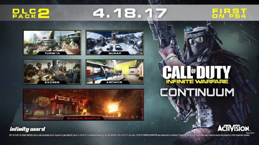 Call of Duty: Infinite Warfare Continuum