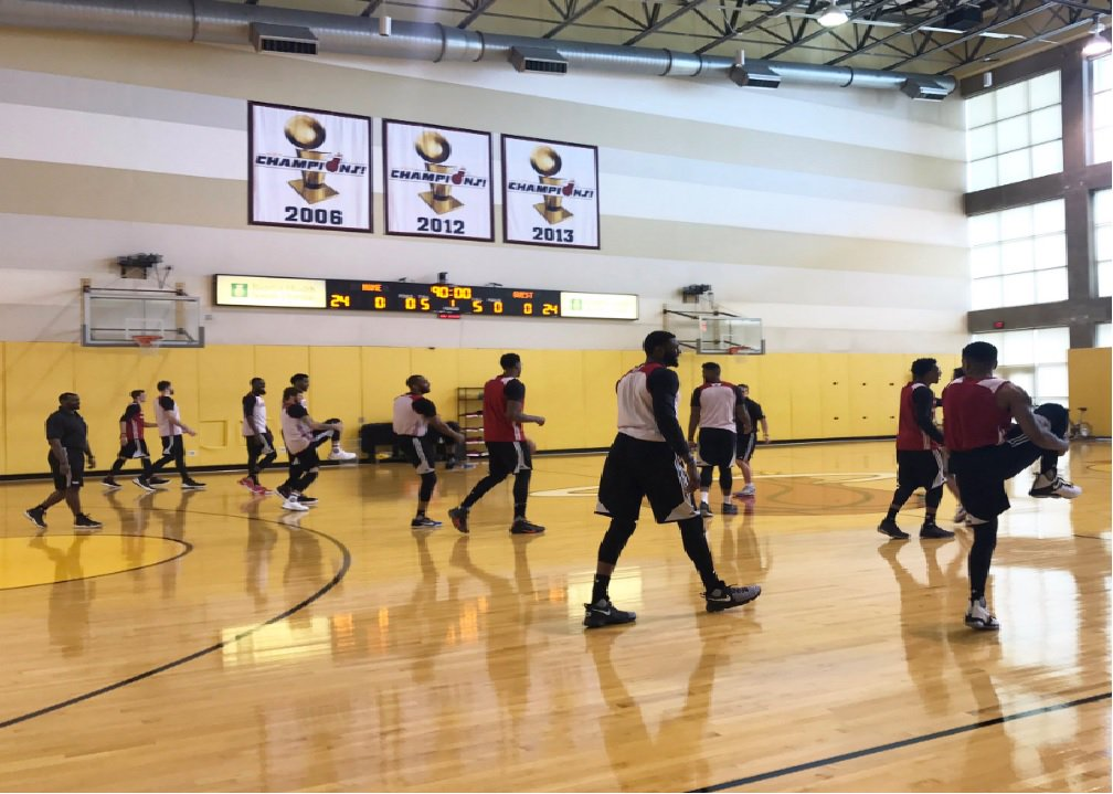 Heat preparing to hit the road for final regular season ...