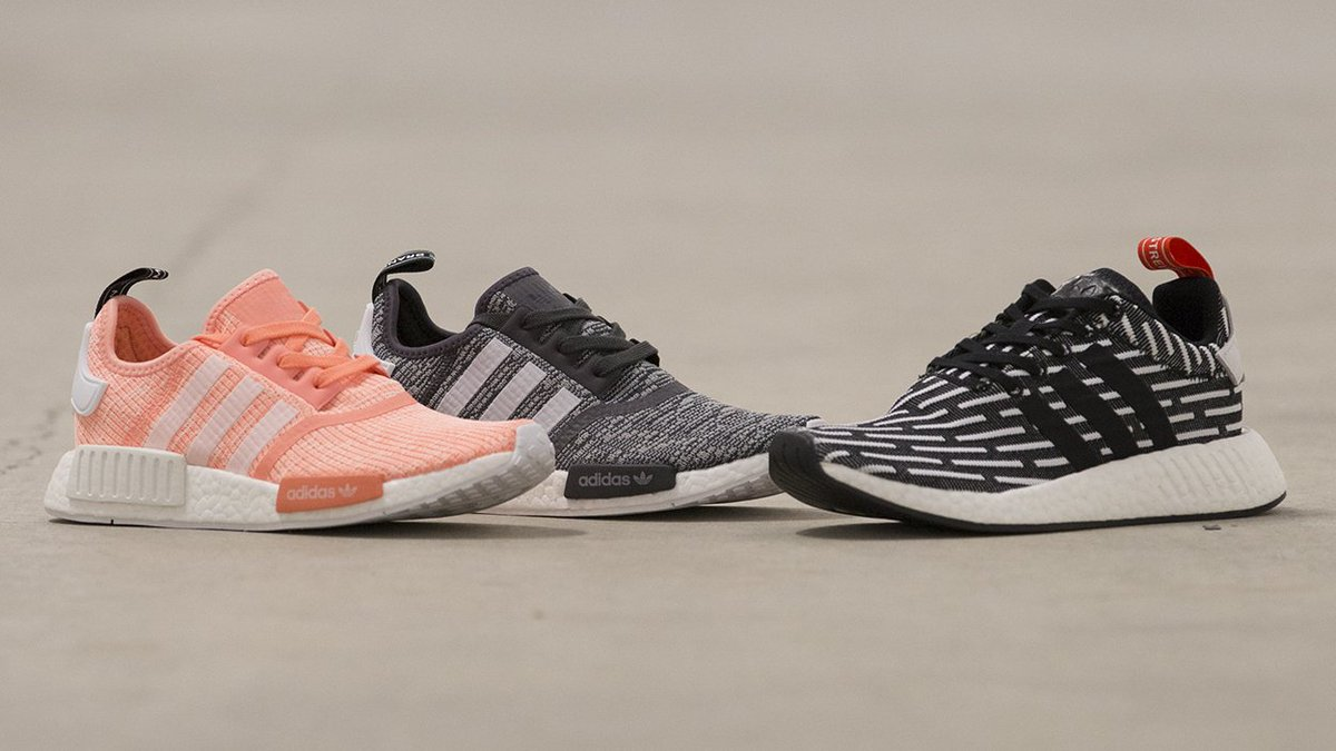4d49fcdf9ffd4 Get the adidas  NMD R1 in bk wt and pnk wt