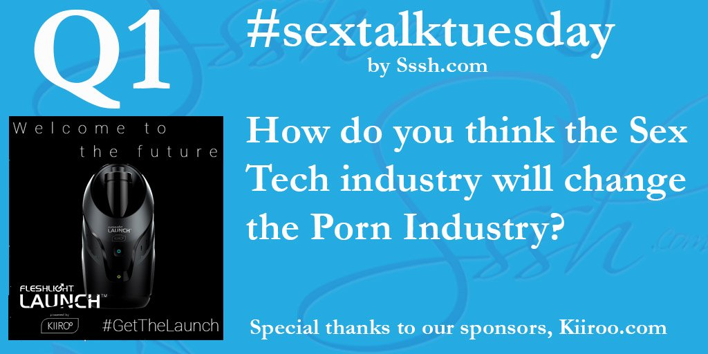 #SexTalkTuesday #SexTech #TechTuesday #FutureSex #PornIndustry https://t.co/gACec175Od
