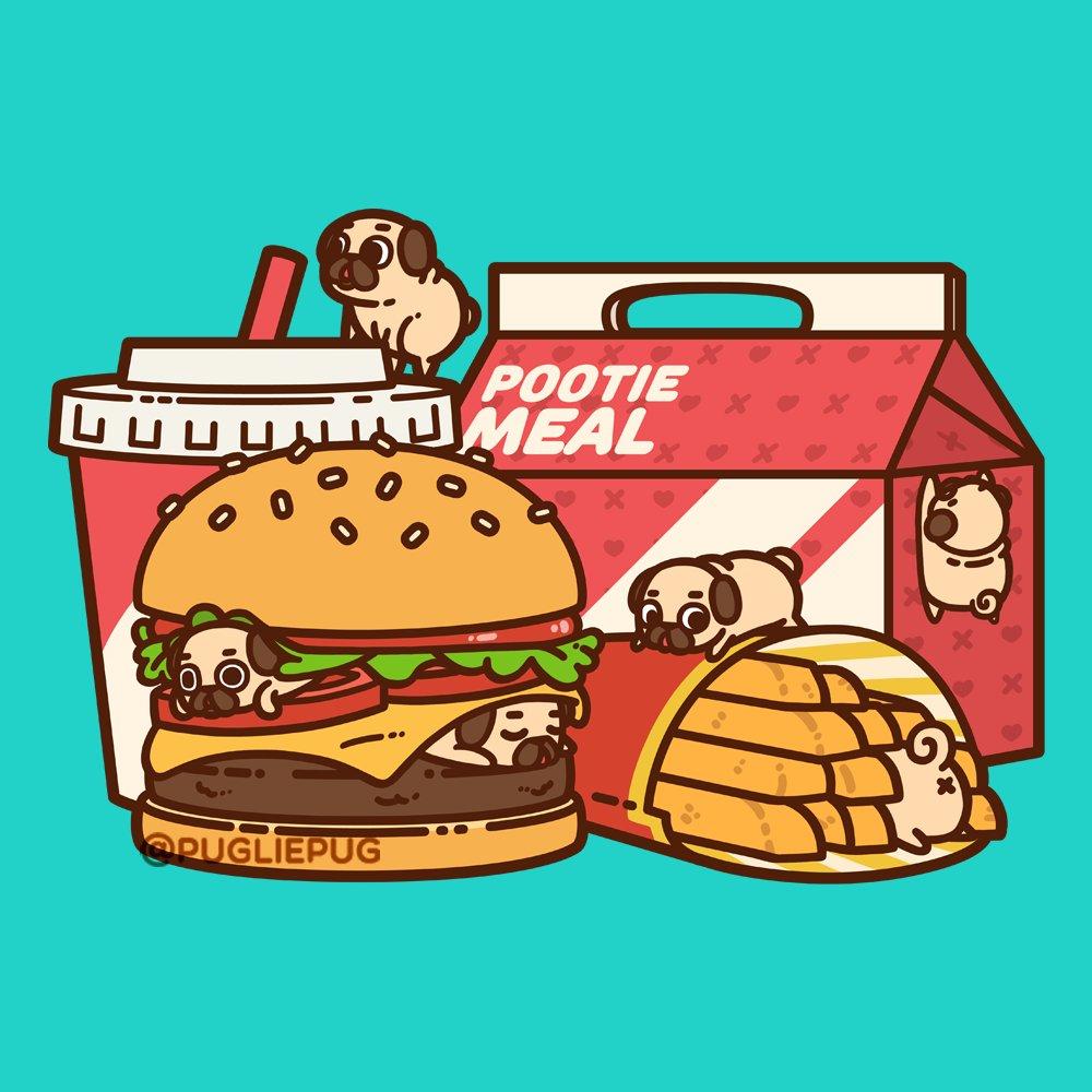 cartoon pugs wallpaper