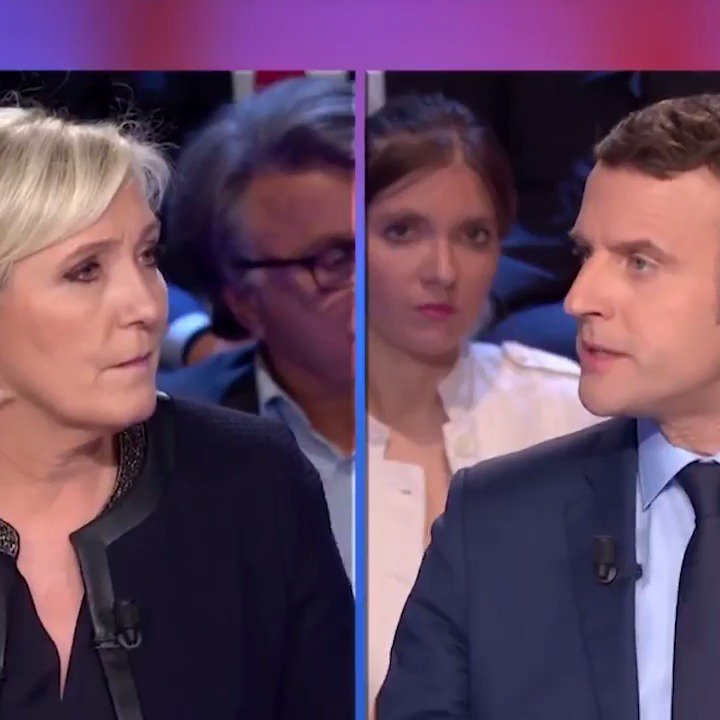 Madame Le Pen, vous ressortez les mensonges qu'on entendait dans la bouche de votre père. #Macron2017 #LeGrandDébat