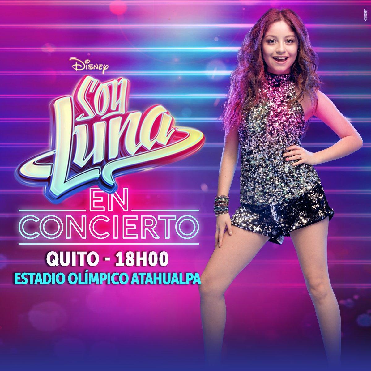 Soy Luna Concierto At Soylunaec Twitter