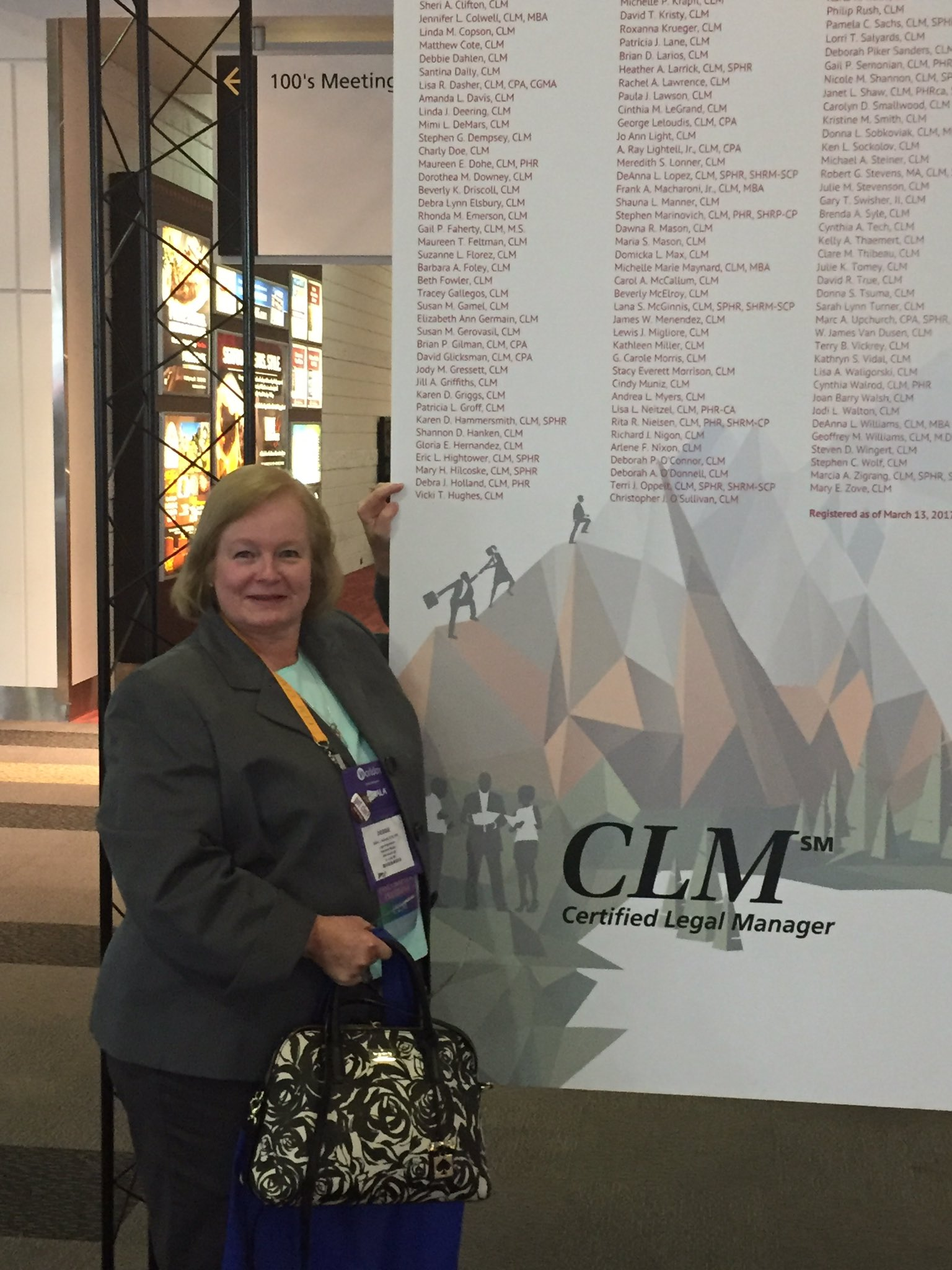 Happy to be counted among the CLMs at the #ALAConf17 https://t.co/w9DU6tVlKx