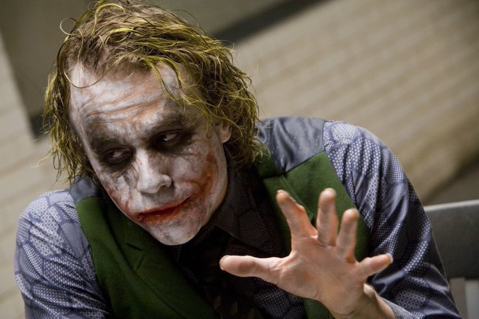 Heath Ledger would have been 38 years old today. Happy Birthday and Rest In Peace.