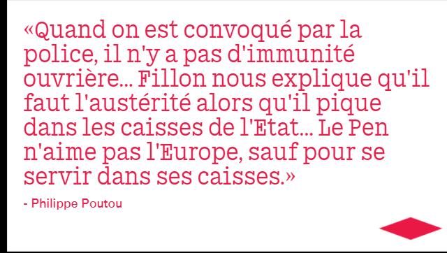 Philippe Poutou, visiblement en pleine forme 🤜#LeGrandDebat https://t.co/IlQpUfDuUd