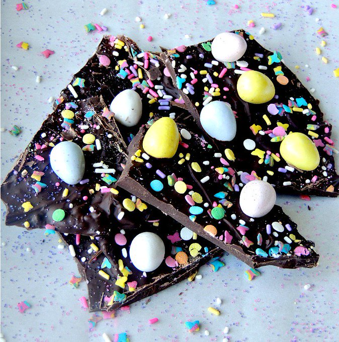 Easter Bunny Chocolate Bark