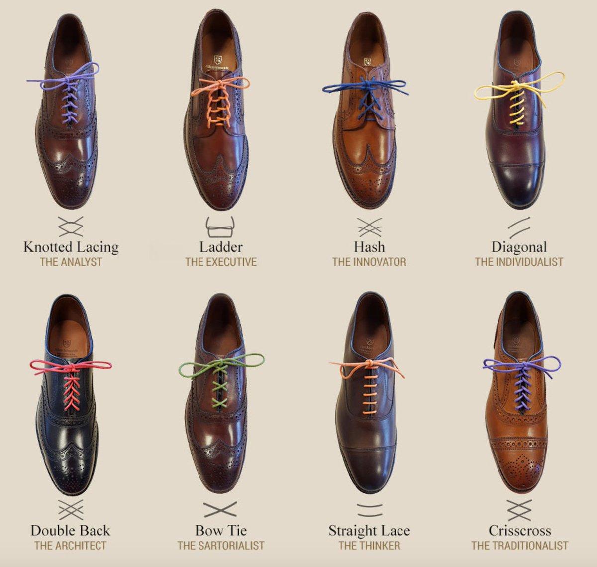Lace Your Dress Shoes