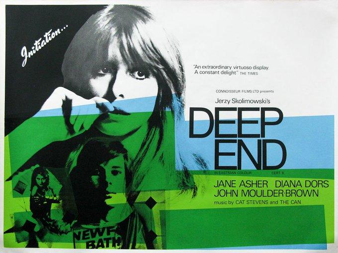 Happy birthday to Jane Asher - Jerzy Skolimowski\s DEEP END - 1970