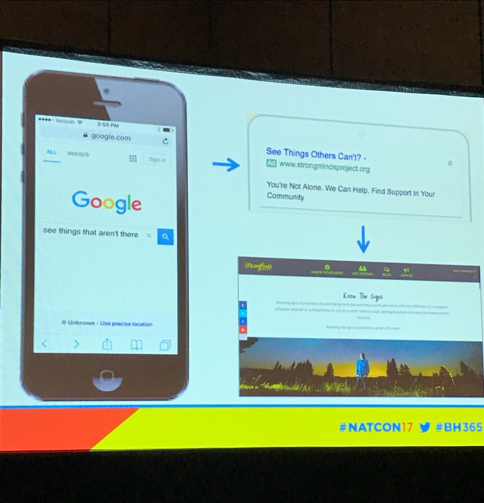 .@P4SM Awesome! @P4SM bought Google ads that were triggered when searches happened.. #digitalhealth #NatCon17 #BH365 https://t.co/Q6t81d6548