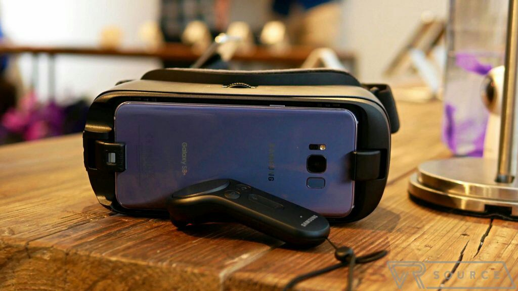 The Galaxy S8 and Galaxy S8 Plus don't support Google Daydream