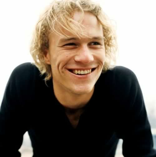 Happy Birthday to this beautiful man, Heath Ledger   Today would\ve been 38th
