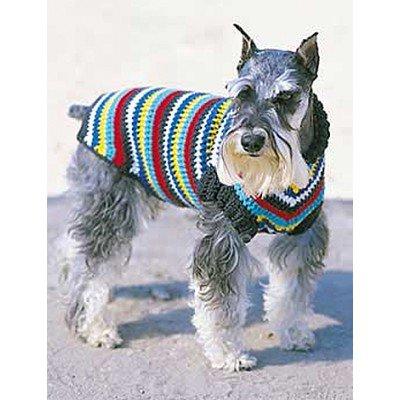 одежда для собак крючком со схемами