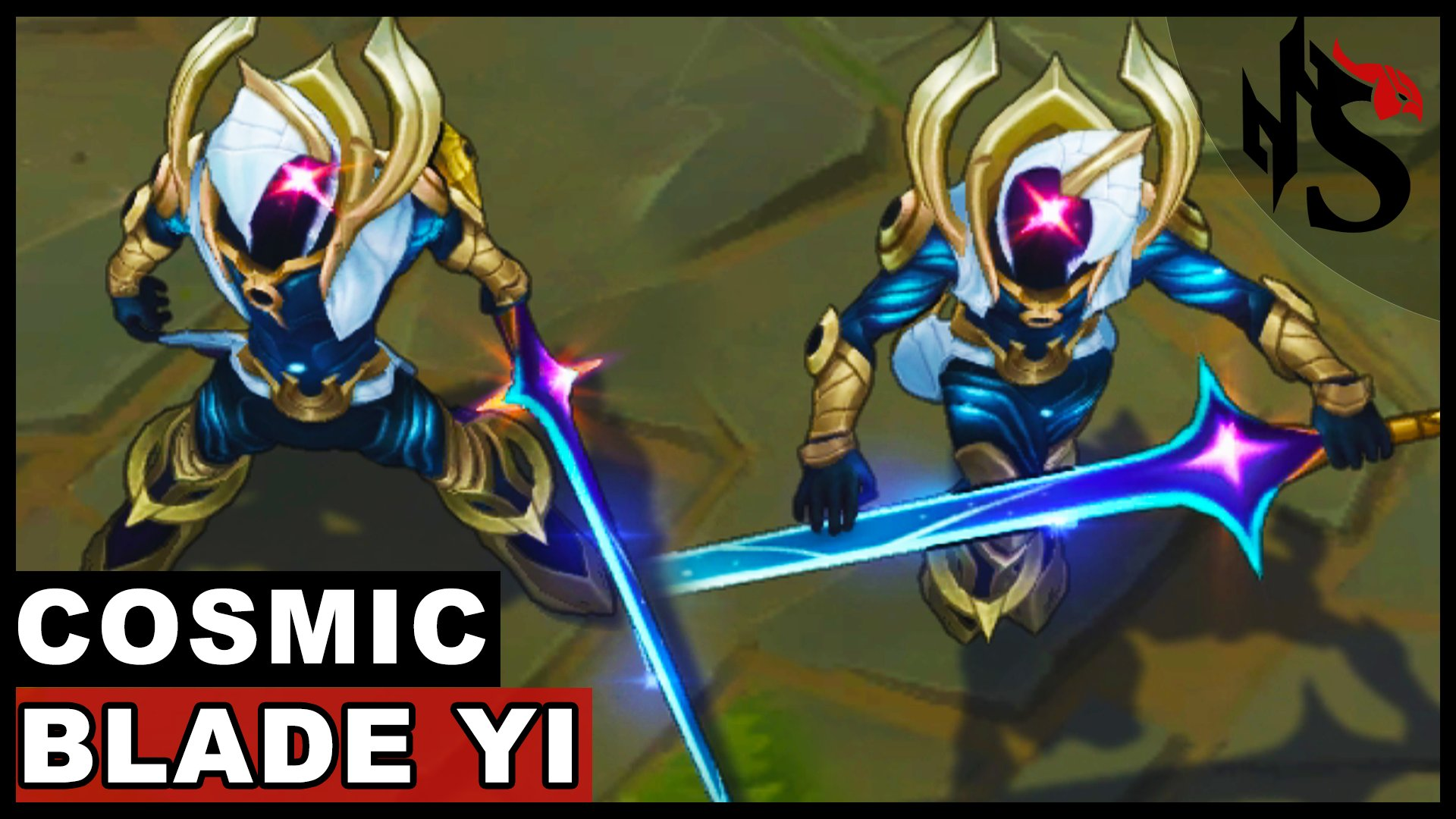 Squpo On Twitter Cosmic Blade Master Yi Skin Spotlight League