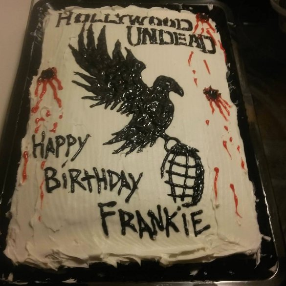 Hollywood Undead On Twitter Sick Cake Happy Bday Frankie