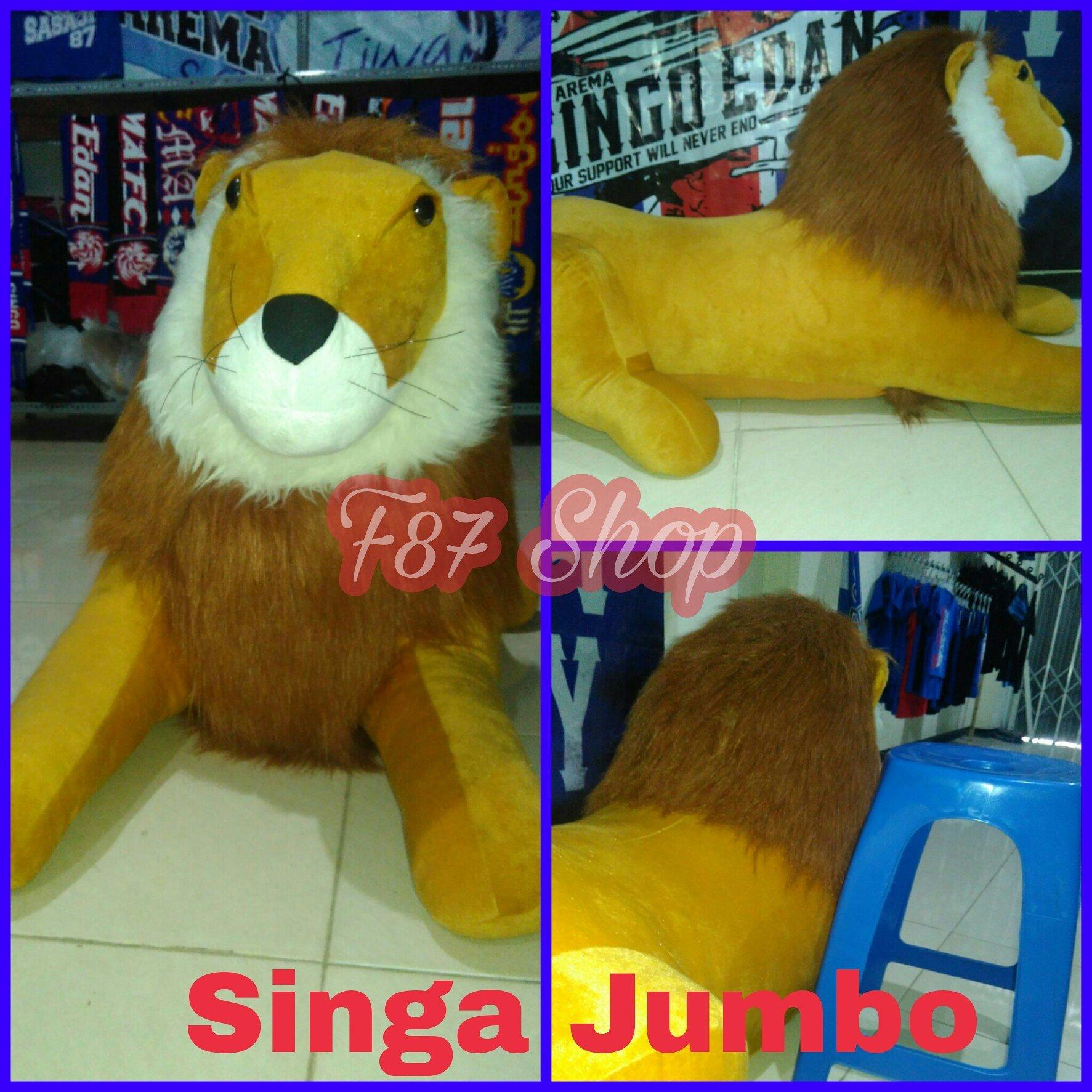 Lurimerch Twitter Ready Boneka Singa Jumbo Minat Wa 085776876391 Bbm