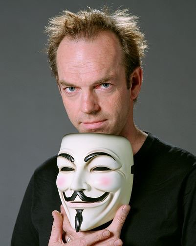 Happy birthday to the man behind the mask, Hugo Weaving!