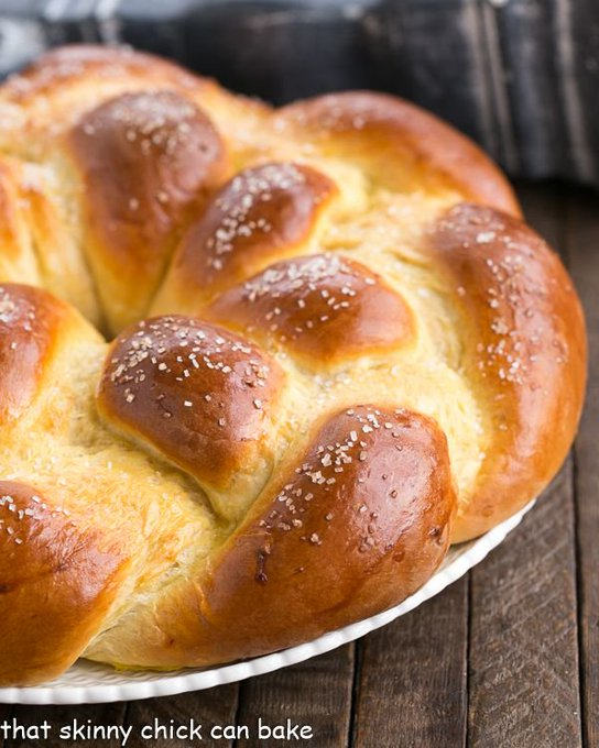 Braided Easter Bread @ThatSkinnyChick