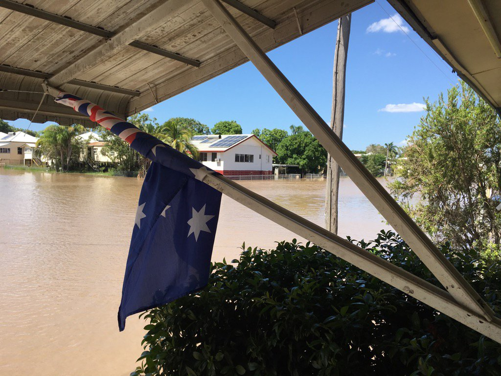 Thumbnail for Hundereds of Rockhampton properties inundated