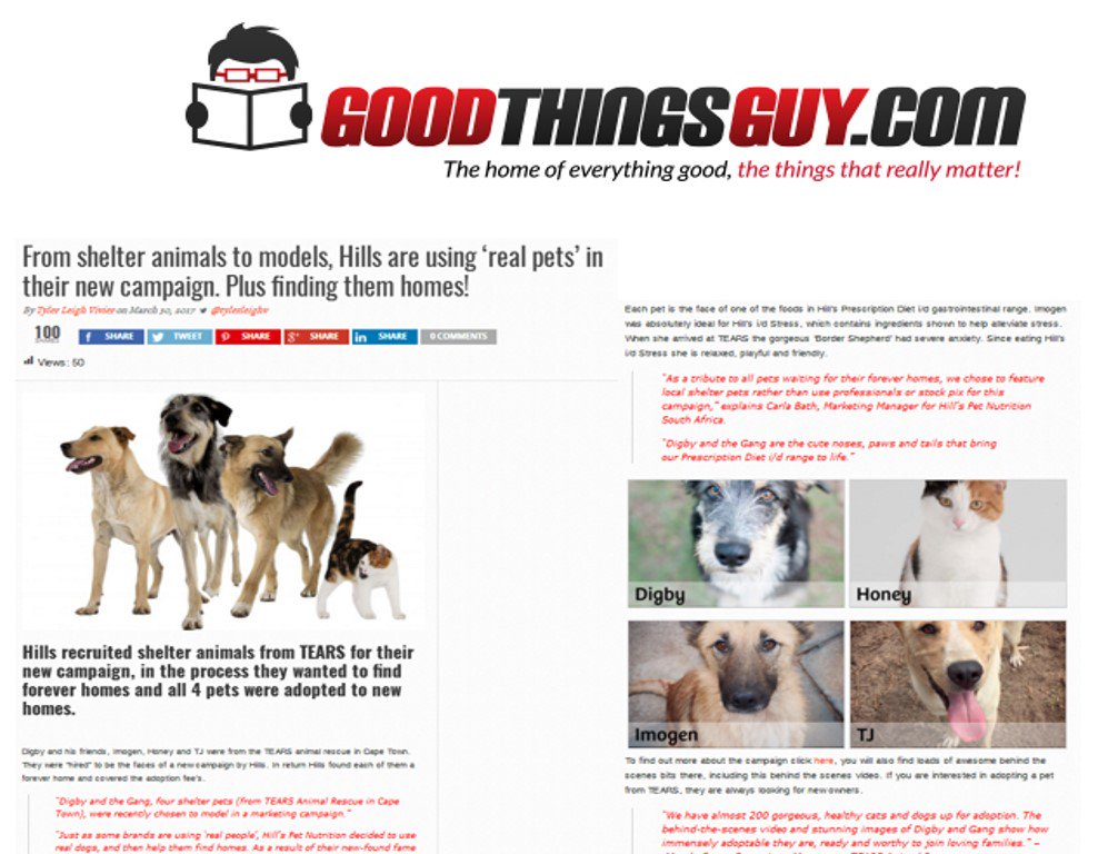 TEARS Animal Rescue on Twitter: