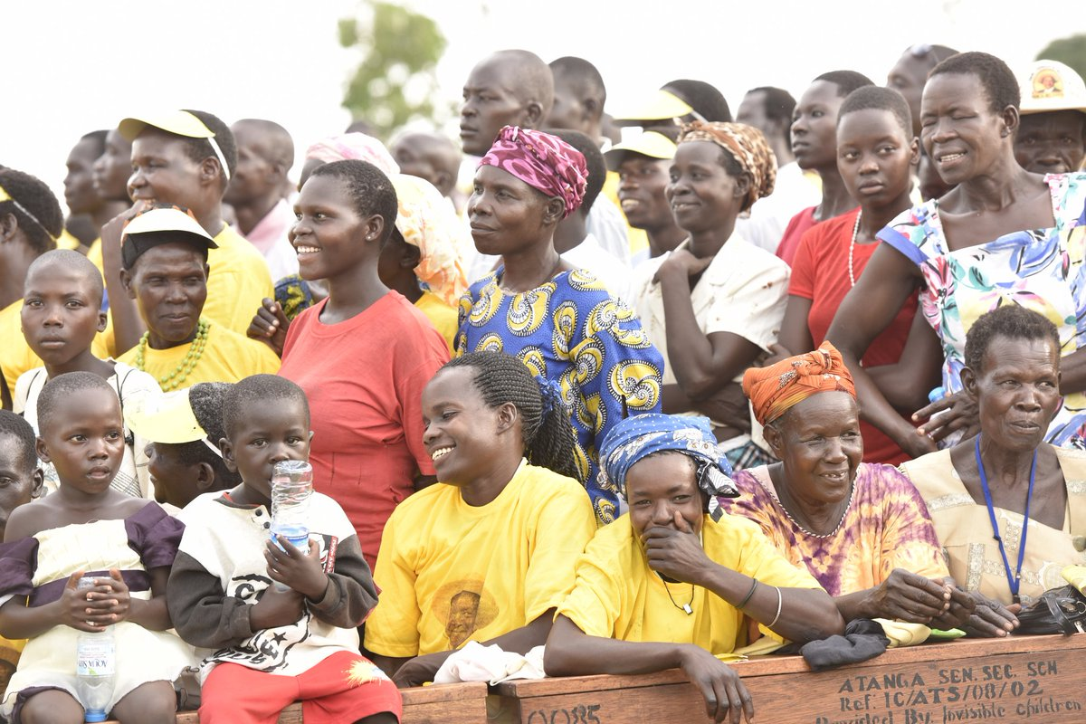 Image result for museveni and youth money
