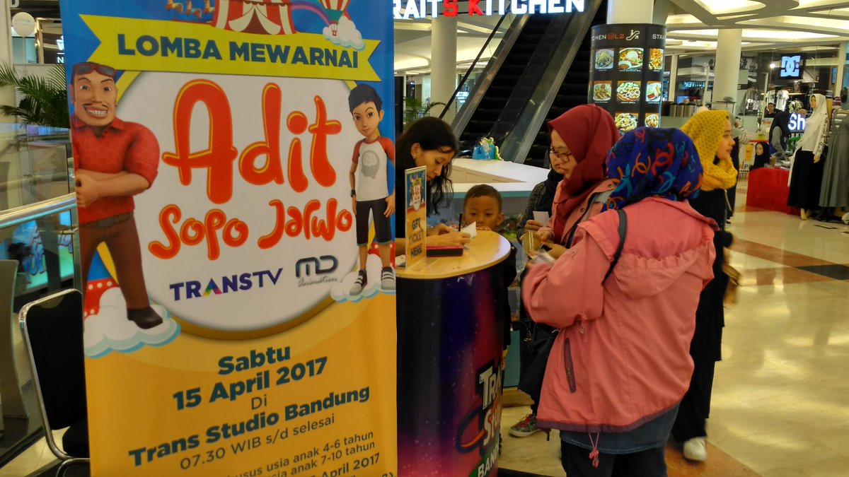 Trans Studio Bandung On Twitter Biaya Registrasi Lomba Mewarnai
