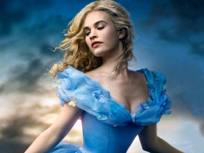 Happy Birthday To Lily James, Our Modern Day Cinderella