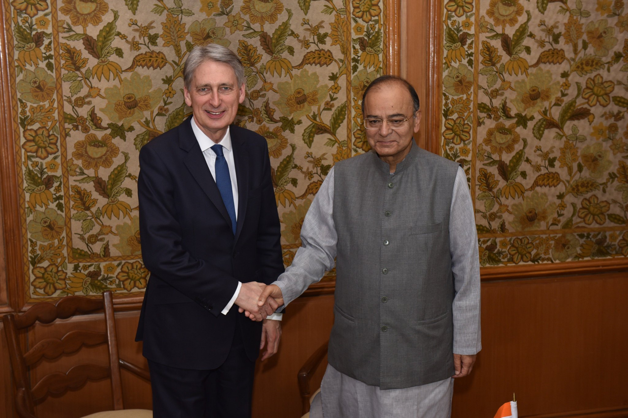 Thumbnail for Philip Hammond, Mark Garnier and Baroness Neville-Rolfe visit India