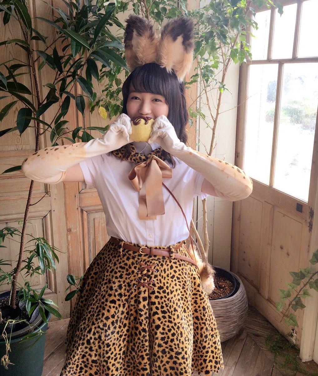 もぐぅもぐぅ…ジャパリまん美味しいー🐱💕#声優パラダイス #けものフレンズ pic.twitter.com/fDmDvBbaQ8