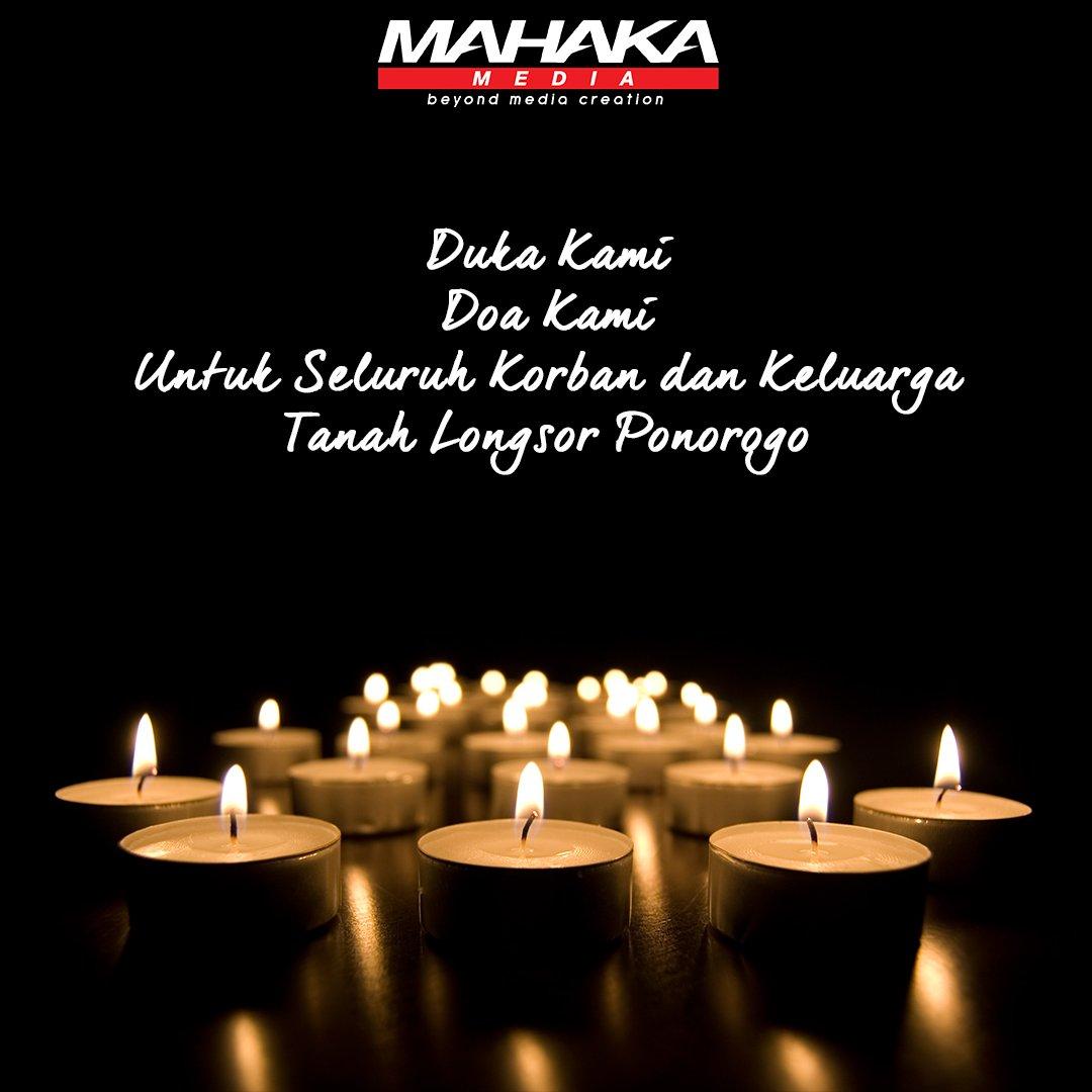Turut berduka cita dan menyertakan doa untuk para korban musibah Bencana Tanah Longsor di Ponorogo, Jawa Timur.  https://t.co/s4ZFDU7xqF https://t.co/u9ebxS4oNi