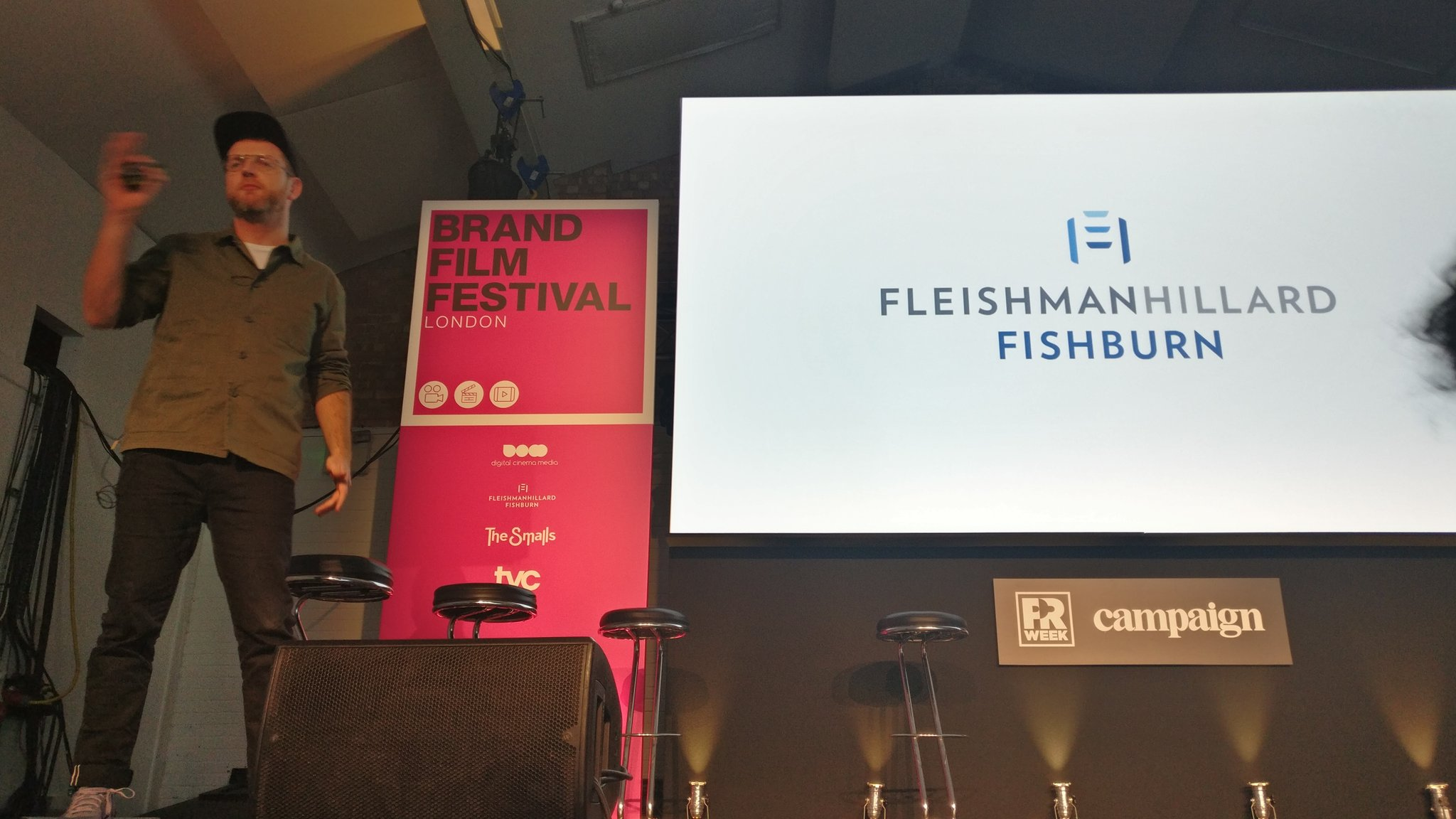 RT @FHFLondon: Our boy @LondonKev on stage at @BrandFilmFest https://t.co/LyQb6hZudK