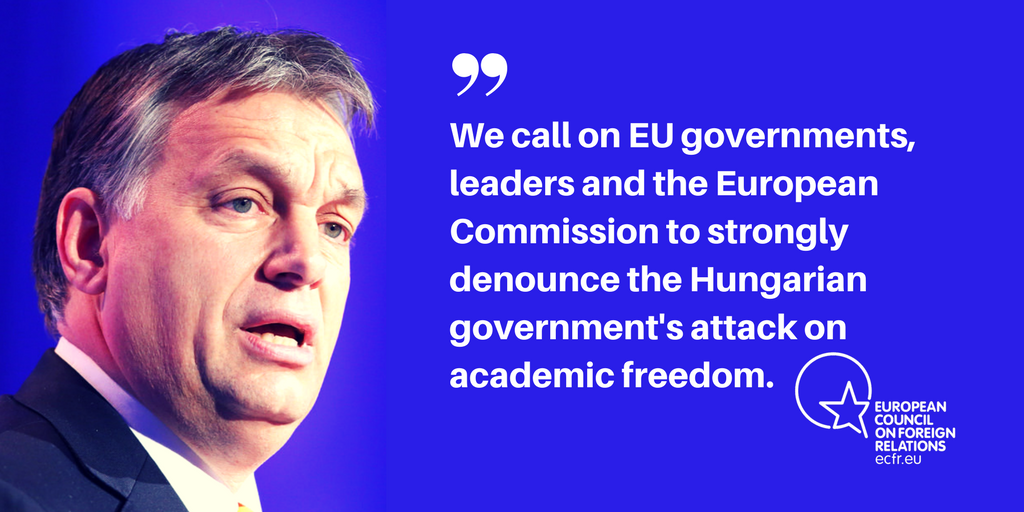 Open letter from concerned Europeans on the Central European University #CEU #IstandwithCEU https://t.co/UmnGPWtQKU https://t.co/Y79mziRKhb
