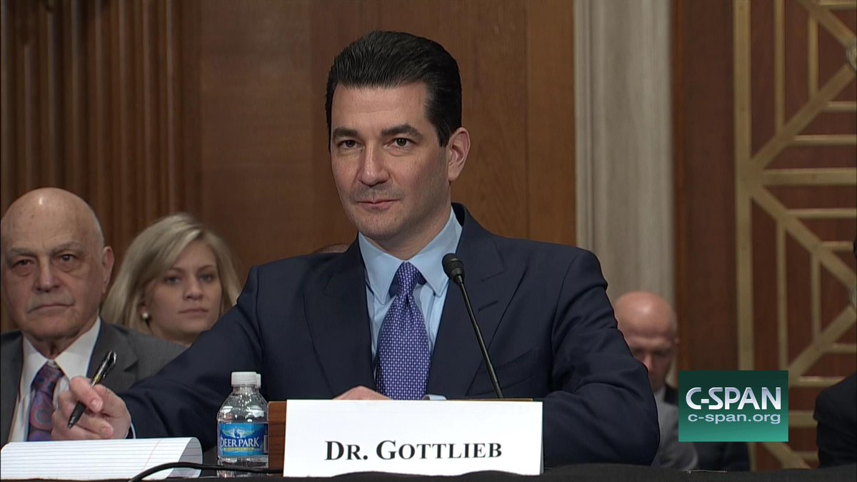 cspan on confirmation hearing dr scott gottlieb to be cspan on confirmation hearing dr scott gottlieb to be us fda administrator live online here t co fi7zpdbc9z t co m2g9zjldev