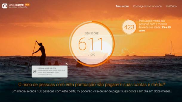 >@EstadaoEconomia: Serasa libera consulta gratuita do consumidor à sua pontuação de crédito https://t.co/waMmfREGQj