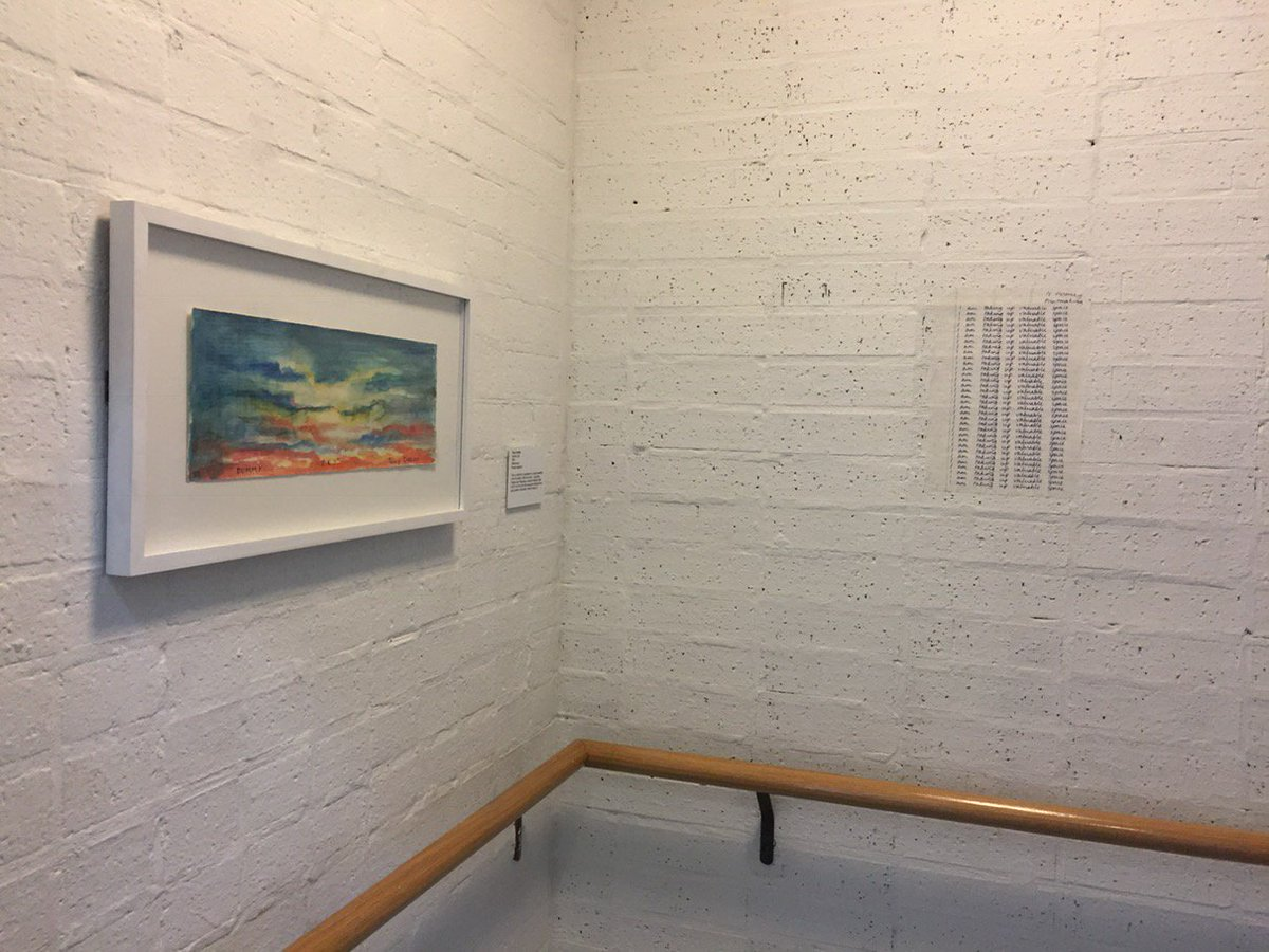"""Glad """"I am taking up valuable space"""" AGAIN at @theBluecoat, + in such close proximity to @TonyOursler. Until 23/04. <br>http://pic.twitter.com/ZgbT3l0swO"""