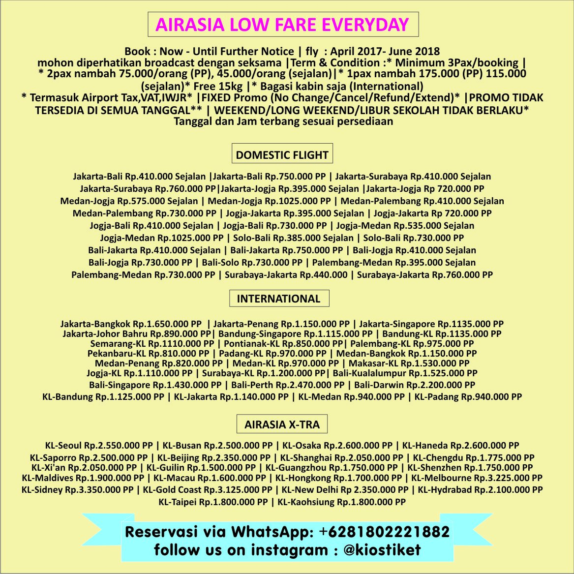 Hendry Norman On Twitter Air Asia Calling You Tiket Tiketpesawat 352 Am 5 Apr 2017