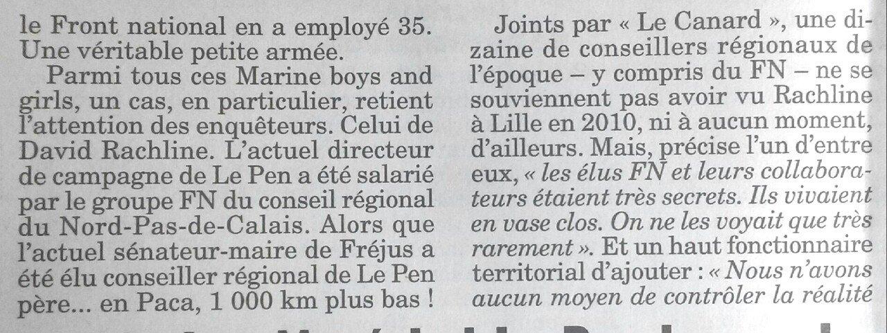 Donc #Rachline actuel sénateur-maire de Fréjus était salarié du groupe #FN Nord-Pas-De-Calais tout en étant élu conseiller en Paca à 1000 km https://t.co/1cqw2todd6