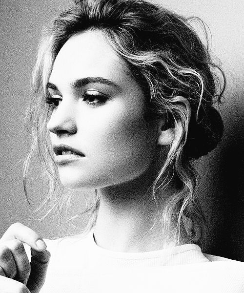 Happy Birthday to the absolutely stunning and talented Lily James