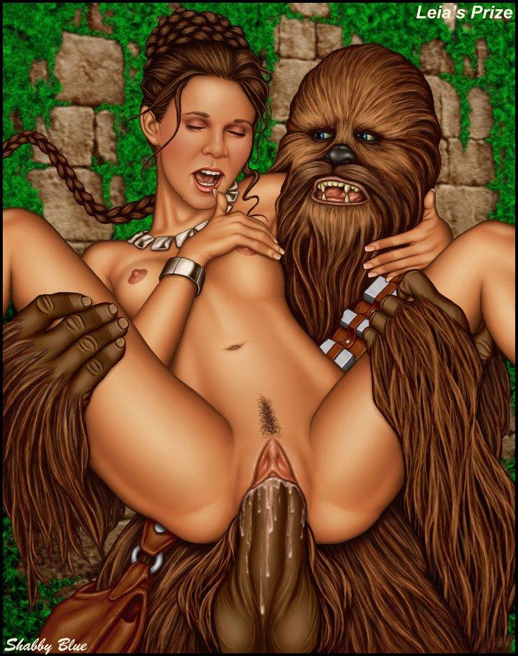 Star wars porn leia right! like